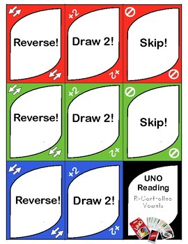 R-Controlled Vowels Uno