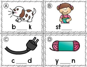 R Controlled Vowels Write the Room