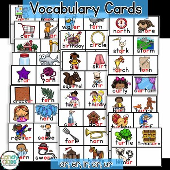 Bossy R Word Work Activities {Phonics Activities for R Controlled Vowels}