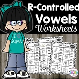 R Controlled Vowels Worksheets Color the Sound