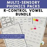 Orton-Gillingham Activities R-Controlled Vowels BUNDLE | V