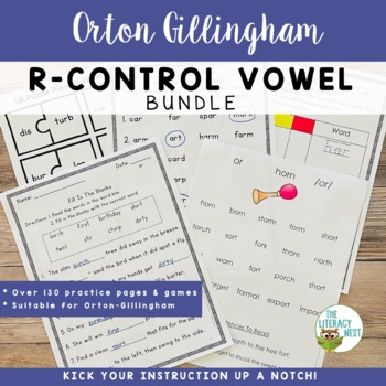 R Controlled Vowels Activities Multisensory Phonics Approa