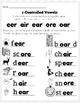 R-Controlled Vowels #2