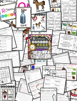 R Controlled Vowels: OR Mega Activity Pack
