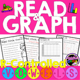 R Controlled Vowels Read and Graph Activities