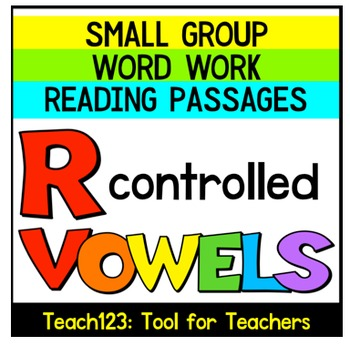 R Controlled Vowels Reading Passages Sorts Sentence Building ABC Order
