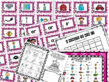R Controlled Vowels Phonics and Word Work Activities