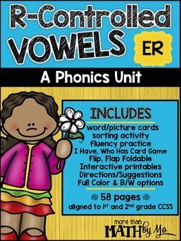R-Controlled Vowels - A Phonics Unit: ER