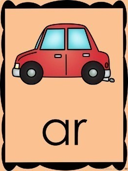 R Controlled Vowels Phonics Practice {AR}