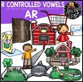 R Controlled Vowels - AR Clip Art Bundle {Educlips Clipart}