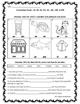 Or Ore Worksheets | Teachers Pay Teachers