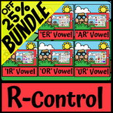 R Controlled Vowels AR ER IR OR UR | Bossy R | Speech Language Therapy | SLP