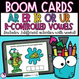 R Controlled Vowels AR ER IR OR UR Digital BOOM Cards   Distance Learning