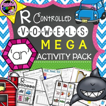 R Controlled Vowels: AR Mega Activity Pack