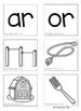 R-Controlled Vowels: AR & OR (Color & BW)