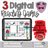 R Controlled Vowels AR OR:  Digital Reading Activities - D