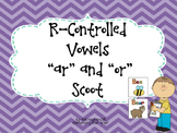 R-Controlled Vowels (AR and OR) Write the Room