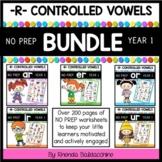 R Controlled Vowels BUNDLE ~  AR ER IR OR UR