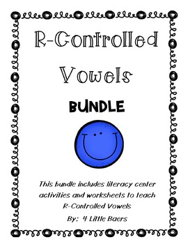 R-Controlled Vowels BUNDLE! - AR, ER, IR, OR and UR - Sorting Centers & Sheets