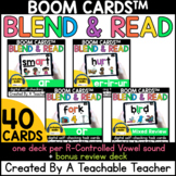 R Controlled Vowels Boom Cards™️ | Blend and Read Boom Car