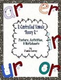 "R-Controlled Vowels ""Bossy R"" Activities Packet"