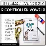 R Controlled Vowels Bossy R | Interactive Phonics Books | Phonics