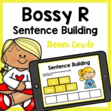 R Controlled Vowels Bossy R Sentence Building Boom Cards | Distance Learning