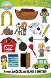 Bossy R Words / R Controlled Vowels Clipart {Zip-A-Dee-Doo-Dah Designs}