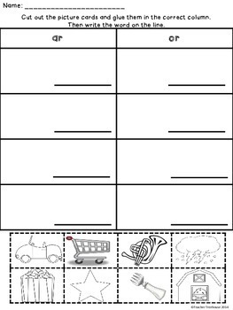 R Controlled Vowels - Bossy R Worksheets and Activities: ar, er, ir, or, ur