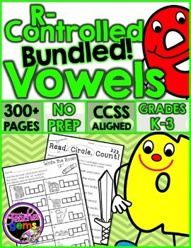 R Controlled Vowels Bundle