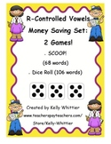 R - Controlled Vowels Card Games - SCOOP! and Dice Roll