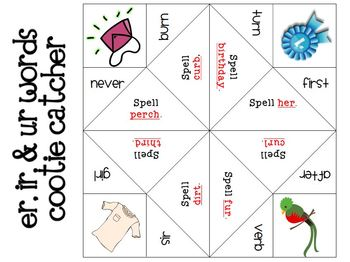 R-Controlled Vowels Centers and Activities Pack