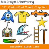 R - Controlled Vowels Clip Art