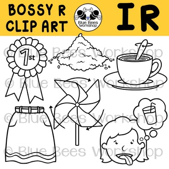 R-Controlled Vowels Clip Art - IR