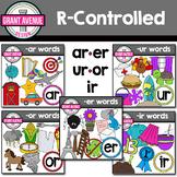 R Controlled Vowels Clipart Bundle - Phonics Clipart Bundle