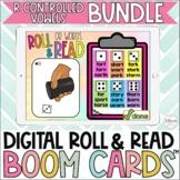R Controlled Vowels Digital Roll & Read Boom Cards™ Bundle