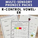 Orton-Gillingham Phonics Multisensory Activities R-Controlled Vowels ER