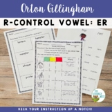 R-Controlled Vowel: ER   Orton-Gillingham Multisensory Pho