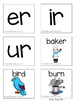 R-Controlled Vowels: ER, IR & UR (Color & BW)