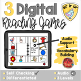 R-Controlled Vowels ER IR UR:  Digital Reading Activities - Distance Learning