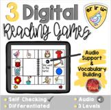 R-Controlled Vowels ER IR UR:  Digital Reading Activities