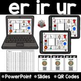 R Controlled Vowels :  ER IR UR Digital Resource Distance Learning