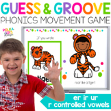 R Controlled Vowels ER IR UR Movement Game for Google (TM) and PowerPoint