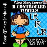 R Controlled Vowels ER, IR, UR [[Word Family GAMES!]]