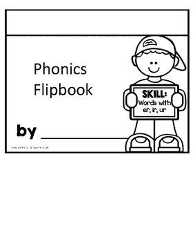 Journeys Penguin Chick | R-Controlled Vowels ER, IR, UR | Phonics Flip Book