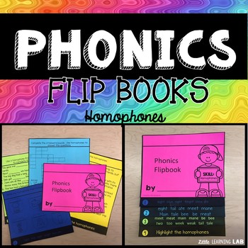 Homophones | Phonics Flip Book | Journeys Gloria Who Might Be My Best Friend