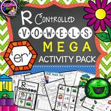 R Controlled Vowels: ER Mega Activity Pack