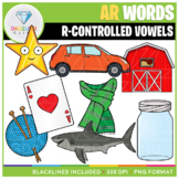 R-Controlled Vowels: AR Words Clip Art