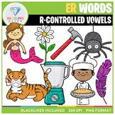 R-Controlled Vowels: ER Words Clip Art