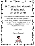 R Controlled Vowels Flashcards